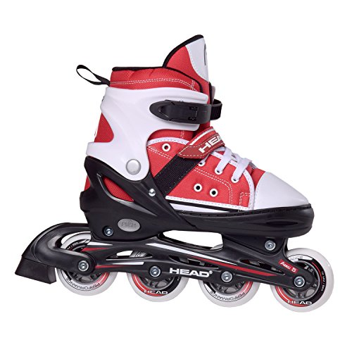 Head Inlineskate Adjustable Cool - Patines en línea, Color Multicolor (Rot/Weiss), Talla 34-37