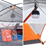 Featherstone 2 Person Backpacking Tent Lightweight for 3-Season Outdoor Camping, Hiking, and Biking - Includes Footprint…