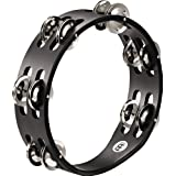 MEINL Percussion マイネル タンバリン Compact Wood Tambourine Nickel Plated Steel Jingles 2rows CTA2S-BK 【国内正規品】
