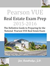 Pearson VUE Real Estate Exam Prep 2015-2016: The Definitive Guide to Preparing for the National Pearson VUE Real Estate Exam
