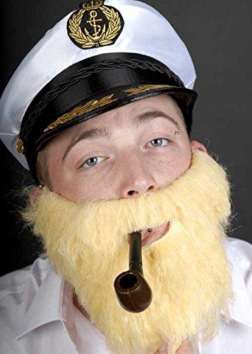 Costume bionda folta barba finta
