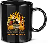 N\A Supernatural 2005 2020 15 Temporadas 327 episodios Carry on My Wayward Son Taza de Regalo Taza de cerámica