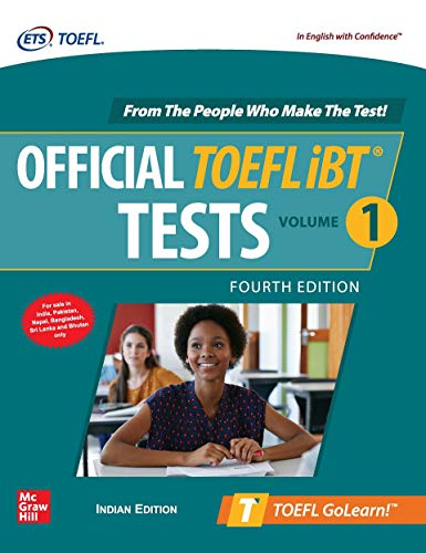Official TOEFL iBT Tests Volume 1 - Fourth Edition