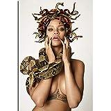 yangchunsanyue Plakat Rihanna Schlange sexy heiße Musik