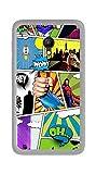 Tumundosmartphone Funda Gel TPU Orange Rise 51 / ALCATEL PIXI 4 (5') 4G / VODAFONE Smart Turbo 7 Comic Dibujos
