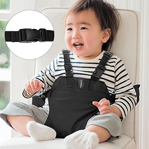 Koo-di Pack It Seat Me Safe Grey Universal Adjustable Travel Seat Suitable from 6-30 Months