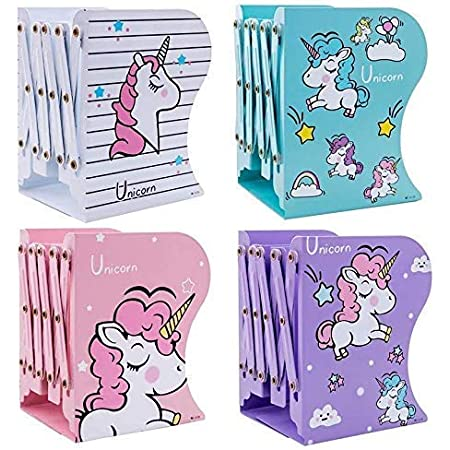 KWT Multipurpose Expandable Bookcase Desktop Bookend Stand Holder Adjustable Book Rack for Kid Office Book Organizer Box Book Stand, Book Organiser, File Holders Organizer (Multicolour)