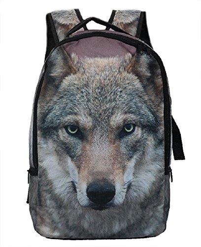 Rucksack Wolf, Tier Tiere Wildtiere Eyecatcher Rucksäcke Tasche Taschen