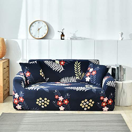 ZBFDSFT Fundas de sofá de Estilo nórdico Funda de sofá Funda de sofá elástica de algodón para Sala de Estar Funda de sofá Toalla de sofá Individual/Dos/Tres/Cuatro plazas Funda de Almohada Pa