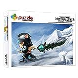 ZTCLXJ Rompecabezas Adultos 1000 Piezas Personaje del Juego Timo 1000 Piezas Puzzles Junior para Adultos Niños Madera Juguetes para Desarrollar La Imaginación De Los Niños (75 × 50 Cm)