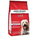Comida seca para perros – Arden Grange adulto con pollo fresco y arroz 12 kg