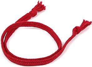 飛騨高山の組紐(太い赤色)。【君の名は。】の聖地、飛騨の職人の手作り。