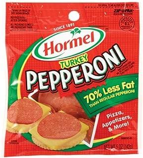 Hormel TURKEY PEPPERONI Slices 5oz (2 Pack)