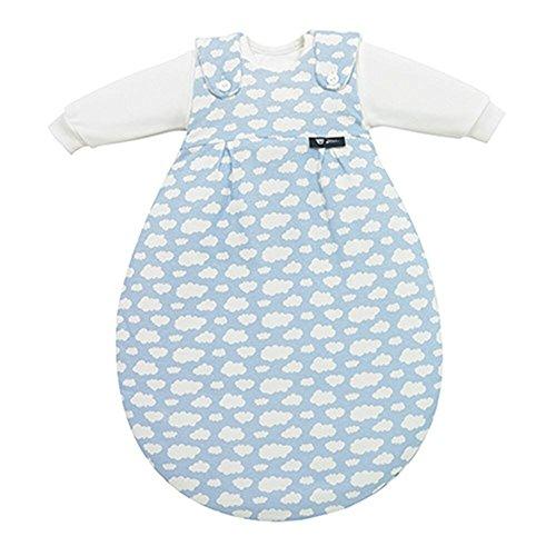 Alvi Alvi 653-1 Baby-Mäxchen 3tlg. Wolke blau Das Original, Größe:80/86