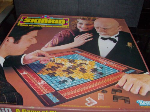 SKIRRID Game of Shapes & Numbers 1979 Board Game by Kenner