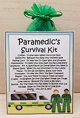 Paramedic's Survival Kit - Unique Fun Novelty Gift & Card All In One from