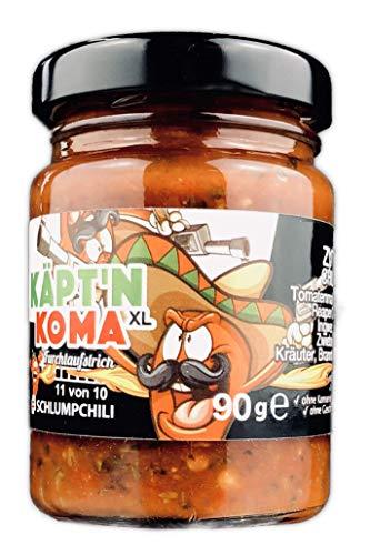 Schlump-Chili⎥KÄPT'N KOMA XL⎥schärfste Chili Paste ULTRA SCHARF! (1 x 90g)