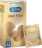 Durex Condones Real Feel - Paquete de 12 (embalaje puede variar)