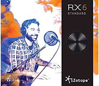 iZotope RX 6 Standard Upgrade from RX Plug-in Pack or RX Elements
