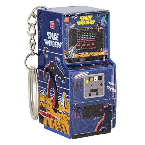 Paladone Space Invaders Arcade Schlüsselanhänger, 6cm, Multi