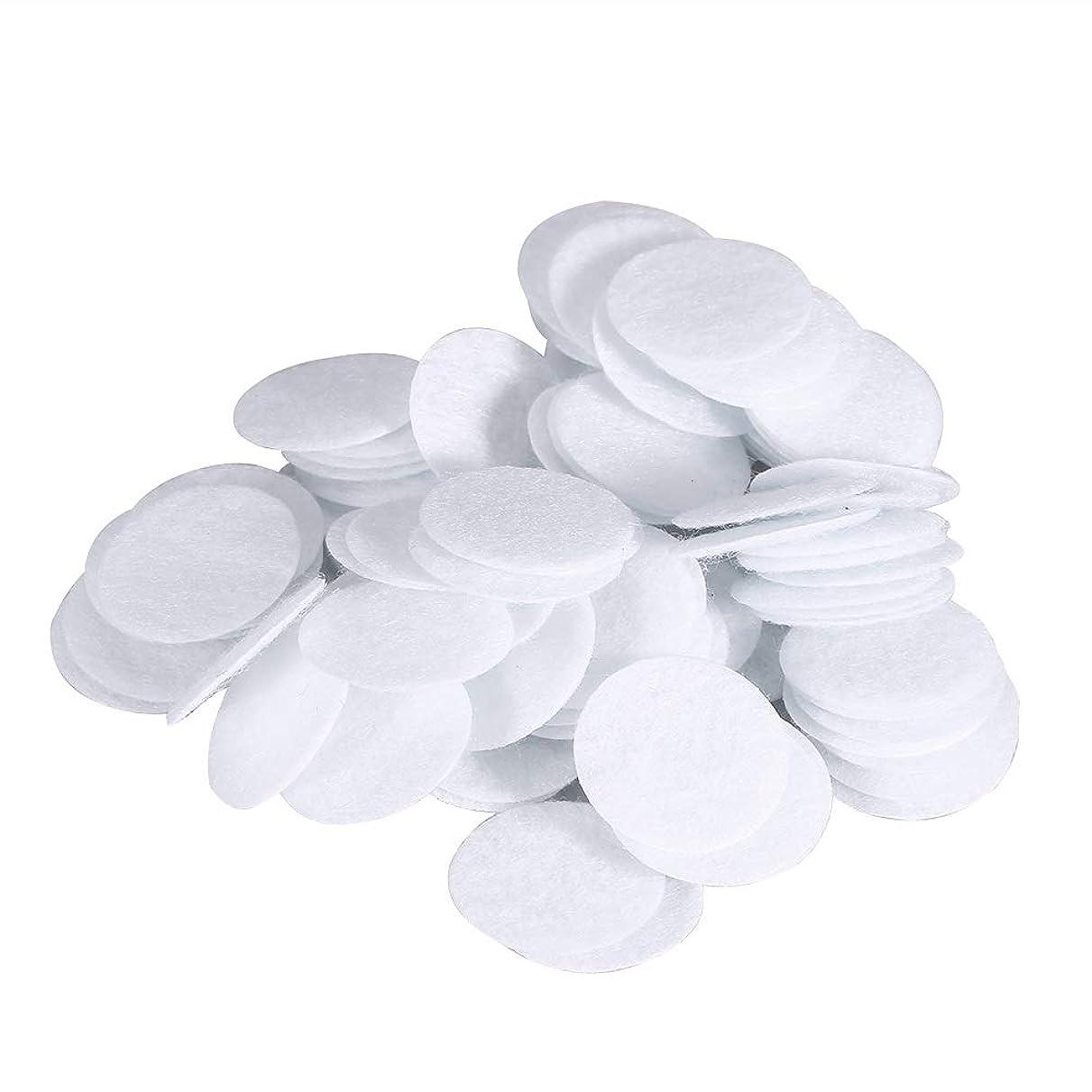 お母さんカブモック綿フィルターパッド にきび除去美容機用 100個 コットン 20mm