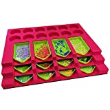 Diamond Painting Tools for Adults Diamond Painting <span class='highlight'><span class='highlight'>Accessories</span></span> with Tray Organizer Multi-Boat Holder for Tray Jar Containers 5 D DIY Diamond Painting Kits