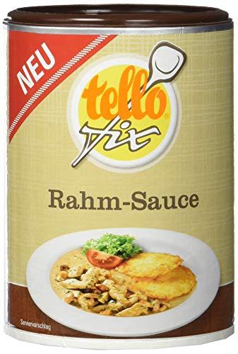 tellofix Rahm-Sauce 170 g / 1.5 l, 3er Pack (3 x 170 g)