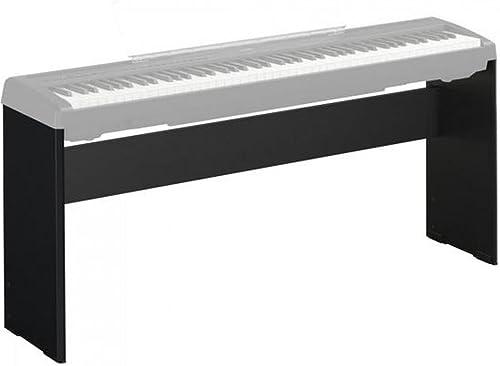 Yamaha L-85A – Support pour Piano Numérique – Support pour les pianos de la série P de Yamaha – Noir mat