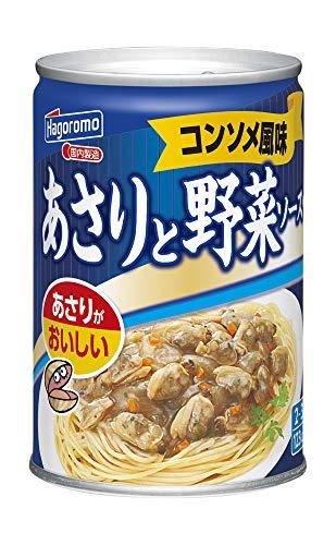 はごろも あさりと野菜ソース コンソメ風味 290g (2195)×3個