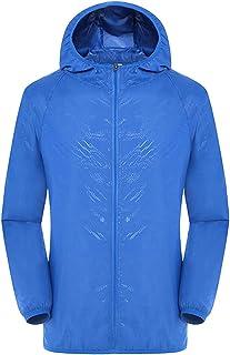 Warreal Ultra-Light Rainproof Windbreaker Jacket Breathable Waterproof Windproof for Women Men