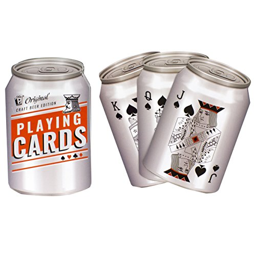 Beer Can Playing Cards