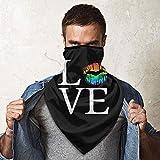 愛は愛であり、愛はLGBTとゲイのための等しいグラフィック ネックウォーマー フェイスマスク 防寒防風マスクスポーツマスク サイクリング通気性 速乾 日焼け防止マスク 釣り、通学、登山、トレッキング 多機能