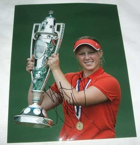 Morgan Pressel Autographed LPGA Mail order Golf PROOF Picture W 8x10 Dealing full price reduction Photo