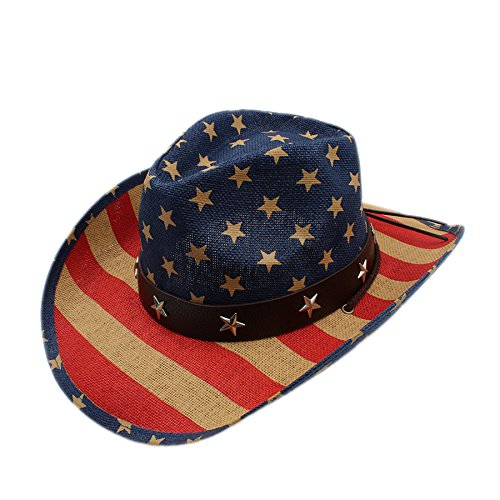 GAOERJI Vrouwen mannen Vacuous Westerly Cowboy Hat Gentleman Cowgirl Jazz Cap Papa koningin Zomer strand Zonnehoed