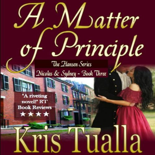 A Matter of Principle  audiobook cover art