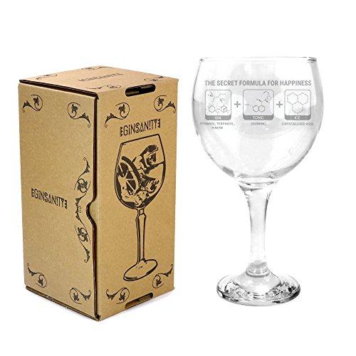 Ginsanity 22oz (645ml) Gin Balloon Glass Cocktail - Gin & Tonic - Secret Formula