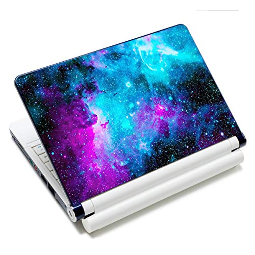 Laptop Notebook Skin Sticker Cover Decal Fits 12 13 13.3 14 15 15.4 15.6 inch Laptop Protector Notebook PC | Easy to Apply, Remove and Change Styles (Galaxy)