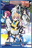 Musaigen no Phantom World: NOTEBOOK FOR ANIME FANS ( 6 x 9 ) 120 PAGES - GIFT IDEAS
