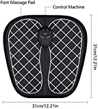 Desire hub Electric EMS Foot Massager Pad Feet Muscle Stimulator Improve Blood Circulation Relieve Ache Pain