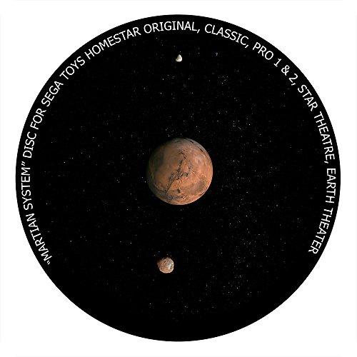 Martian System disc for Segatoys Homestar Pro 2, Classic, Original, Earth Theater Home Planetarium