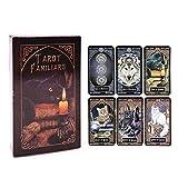 SYEA 78 Carte dei Tarocchi Mazzi di Tarocchi Facili da Trasportare Carte dei Tarocchi Astrologici