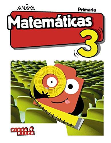 Matemáticas 3. (Pieza a Pieza)