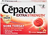 Best Health Sore Throat Relief Lozenges - Cepacol Extra Strength Lozenges with Benzocaine & Menthol Review