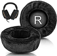 Replacement Ear Pads Compatible with HD668B, SR850, ATH-A900, ATH-AD500X, ATH-A700, AD700X, AD900X, ATH-A990z, ATH-R70X, ATH D700X, AD1000X, AD2000X Headphones (Velour Black)