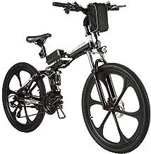 ANCHEER Electric Bike Folding Electric Commuting Bike/Mountain Bike with 26