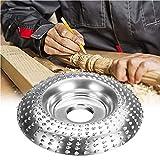 Mola per smerigliatrice angolare in legno carburo di tungsteno mola intaglio disco abrasivo modellatura lucidatura mola piastra taglierina strumento di lavorazione del legno 4In / 100MM
