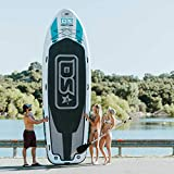 Driftsun Party Barge 15 Foot Inflatable Paddle Board, Large Multi Person Inflatable Stand Up SUP...