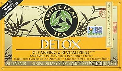 Triple Leaf Tea: Tea,Detox, 20 ct from Triple Leaf