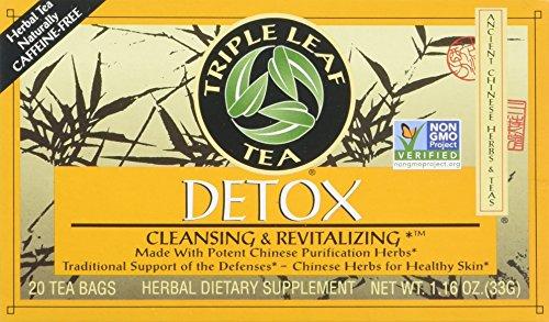 Triple Leaf Tea: Tea,Detox, 20 ct