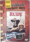 'Rudy' Movie DVD Football Tailgate Pack Includes Bonus 6-Pack Cooler!